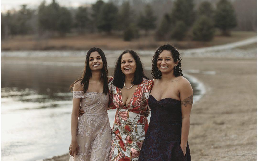 Mother/Daughter Beach Portraits | Bloomington Family Photographer