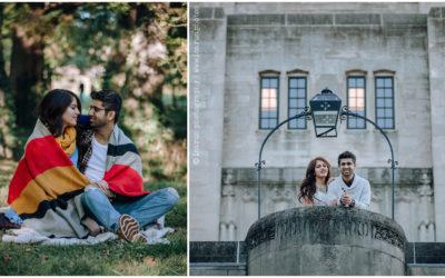 Vishesh & Dakshi | Bloomington Indiana Engagement Photography