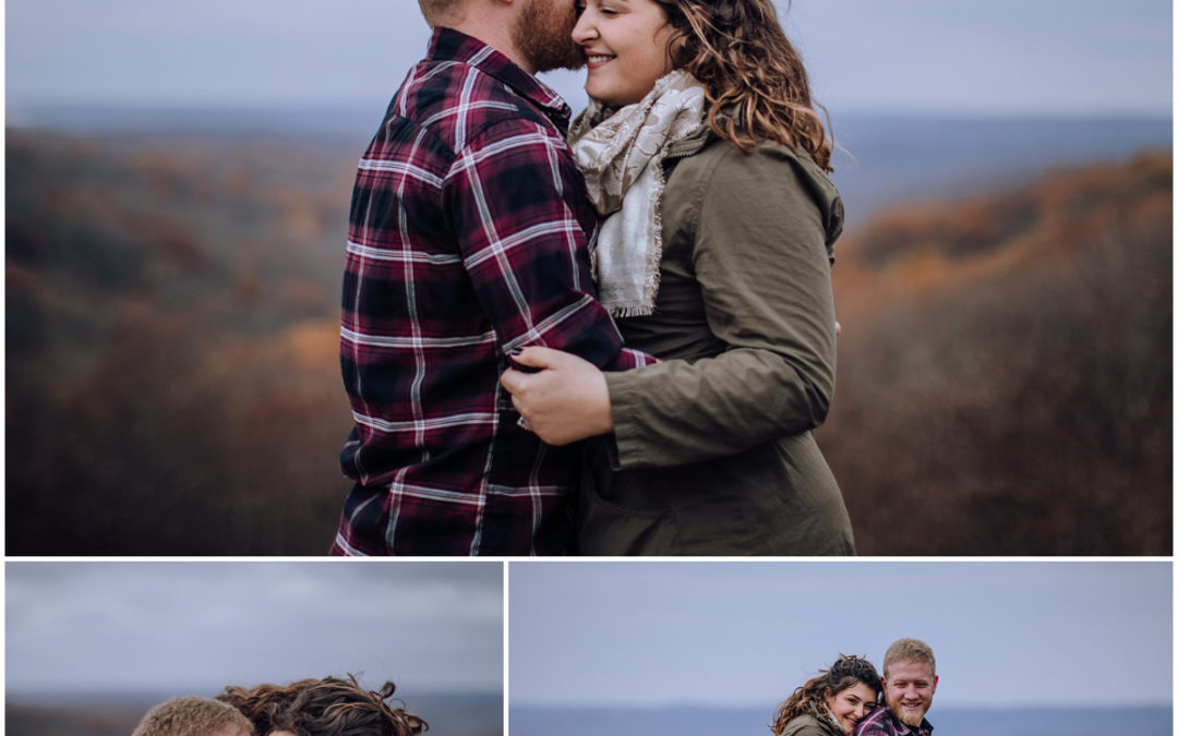 Caitlin & Craig | Brown County Engagement Photographer